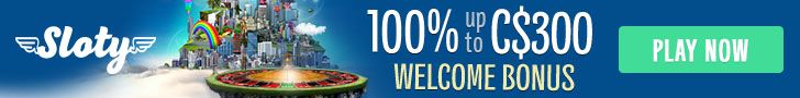 £/$/€ 1500 Welcome Bonus Package at Sloty Casino