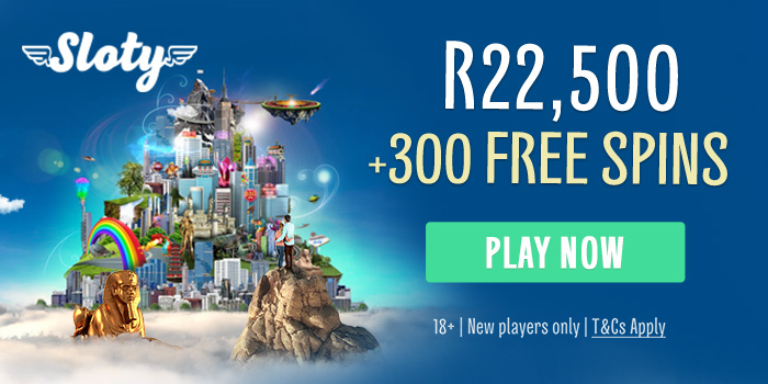 Sloty Casino , R200.00 South African Rand casino