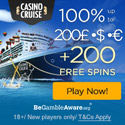 CasinoCruise.com Welcome 100% up to 200 + 100 FS ENG ALL 125x125