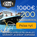 CasinoCruise.com Welcome Package 1000 + 200 FS FIN EUR 125x125