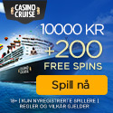 CasinoCruise.com Welcome Package 10.000 + 100 FS NOR NOK