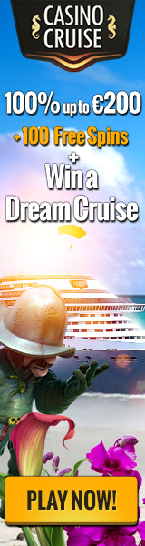 Exclusive offer: CasinoCruise – 20 no deposit + 100 Free Spins & 150% up to $/€/£200 & Win A Dream Cruise