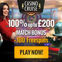 Casino Cruise Welcome 100% up to 200 EN UK