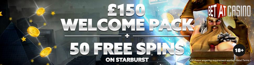 BetAt Casino free spins bonus
