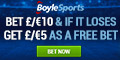 Boylesports Free Bet Welcome Offer