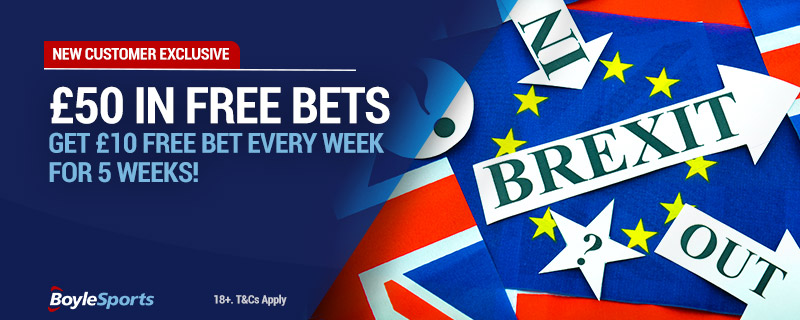 Sign up with BoyleSports and get £10 free bets for 5 weeks