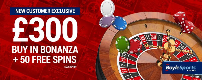 Boylesporst Casino welcome package