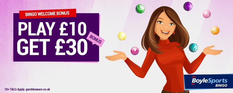 Boylesports Bingo Promotion Code