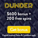 Dunder Casino Free Spins & Welcome Bonus