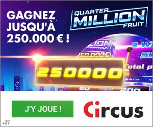 Circus.be Bonus