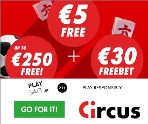 Circus Casino €5 no deposit required and €250 free casino bonus