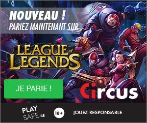 Pariez sur les eSports avec Circus