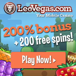LeoVegas.com - Your mobile casino