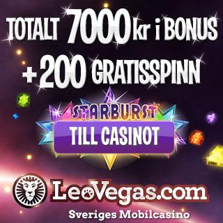LeoVegas.com - Sveriges mobilcasino