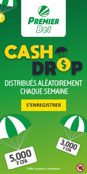 Premier Bet Cameroun Cash Drop