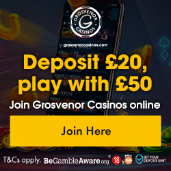 Grosvenor Casino - Play NetEnt Slots - £20 Welcome Bonus