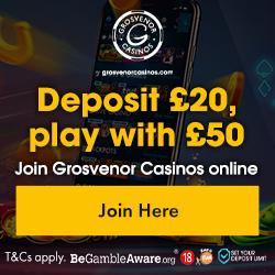 Live Casino, Grosvenor
