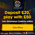 Winners every day at Grosvenor Casino.