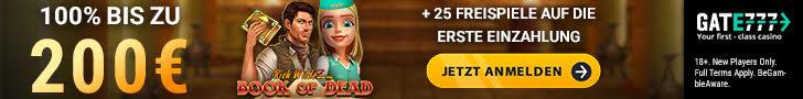 Gate777 Bonus offers 2